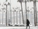 Снегопады накрыли Сочи и Турцию